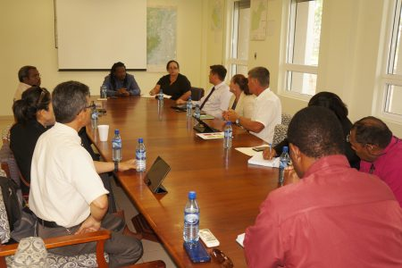 NEMO Minister and Officials discuss Disaster...