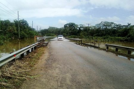 SOUTHERN HIGHWAY RE-OPENED AT JACINTOVILLE