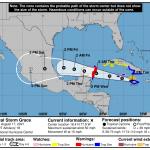 Advisory #1: Tropical Storm Grace
